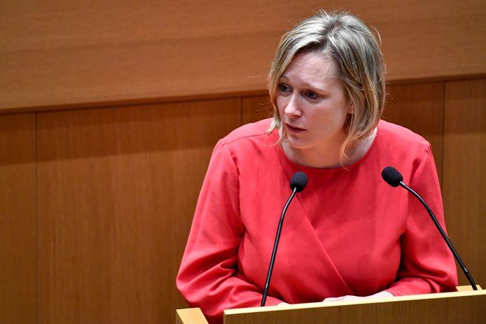 Bénédicte Linard, ministre de la Culture (Ecolo).