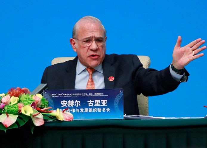Le secrétaire général de l'OCDE Angel Gurria