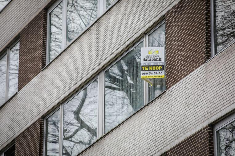 De prijs voor appartementen in Brugge blijft stevig stijgen.