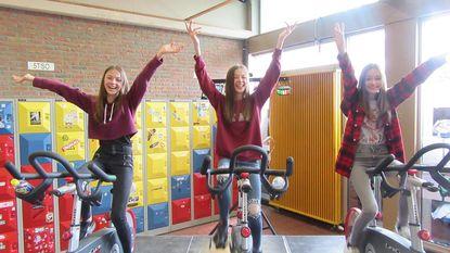 GO! Atheneum fietst 12 uur voor goed doel