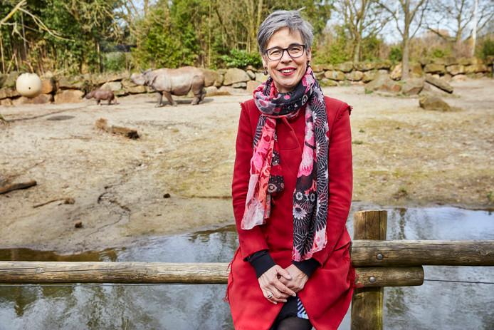 Arina de Waal (57) uit Vlaardingen is de bedenker van de naam van het neushoorntje.