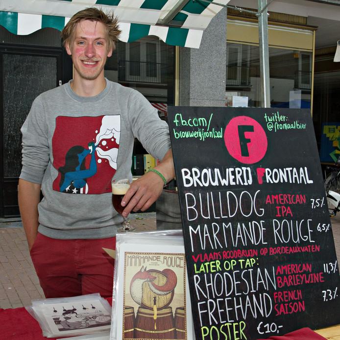 Roel Bukkens van Brouwerij Frontaal. Foto: Jeroen Jongeneelen