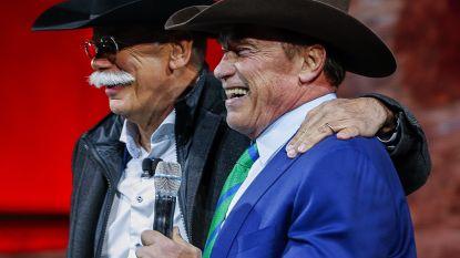 Arnold Schwarzenegger wordt cowboy