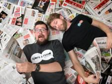 Sjors en Ruud: 'Er is genoeg gebeurd in Harderwijk voor een goeie oudejaarsconference'