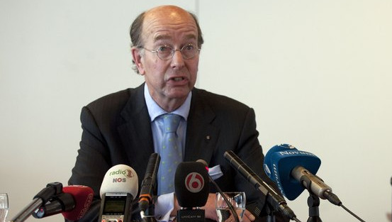 Burgemeester Bas Eenhoorn.