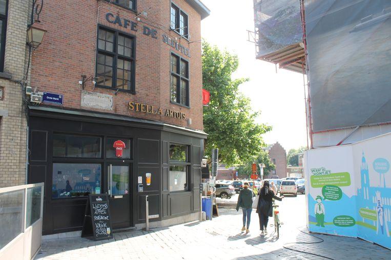 Café De Sleutel, Halle