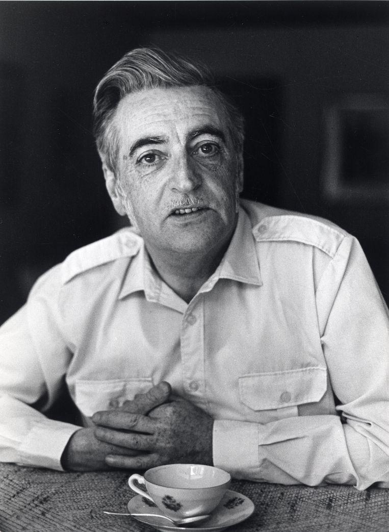 Raymond De Belser in 1986, vier jaar voor zijn vrouw een eind aan haar leven maakte. Beeld Patrick Maetens