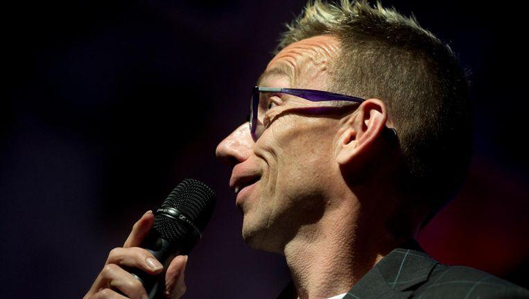 Cabaretier Dolf Jansen Beeld anp