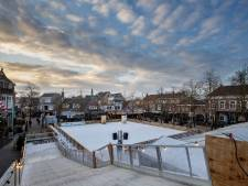 Nieuw in Deurne: een dertig meter lange ijsglijbaan