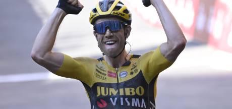 Van Aert ziet droom uitkomen met winst Strade Bianche: 'Aanvallen altijd beter dan verdedigen'