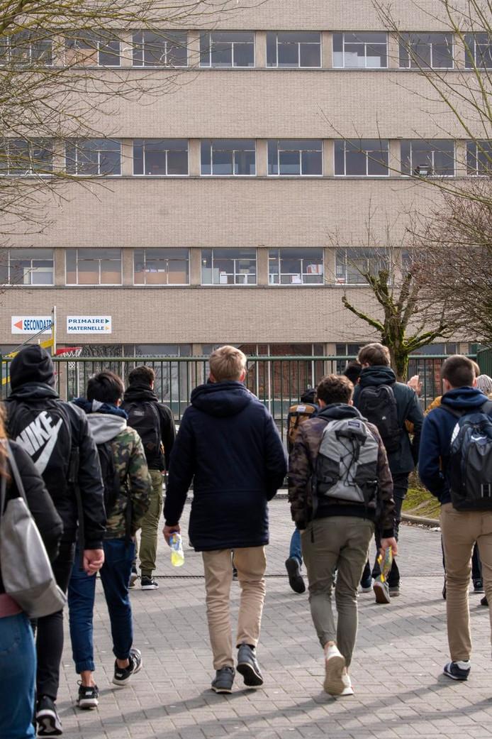 Leerlingen van het Don Bosco-college