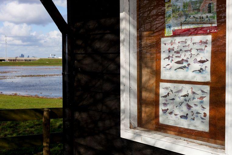 Informatiebord bij het Landje van Geijsel. Beeld Renate Beense