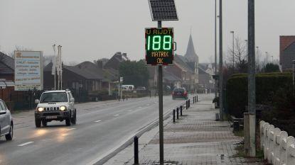 """188 kilometer per uur, matrix 'ok'"": snelheidsbord niet zo goed afgesteld"
