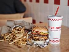 Oók de bekende hamburgerketen Five Guys opent zaak in Tilburg
