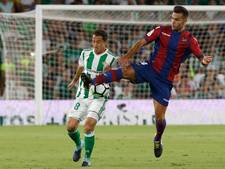 Real Betis stevig in subtop na zege op Levante