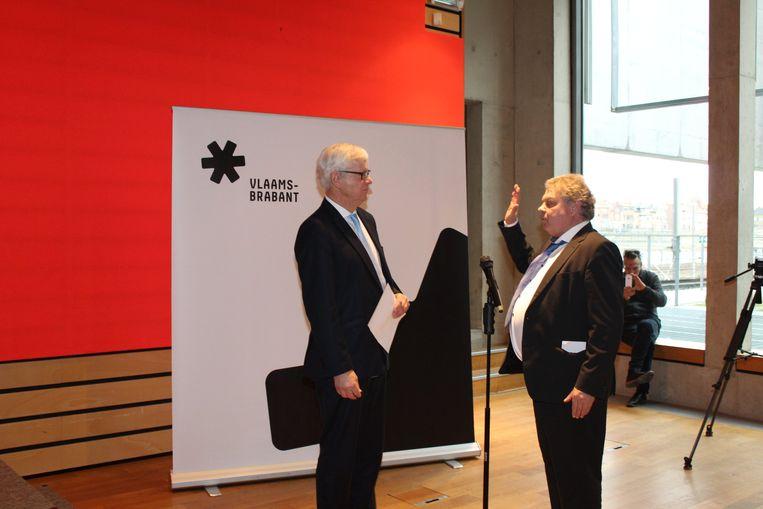 Chris Selleslagh legde de eed af in handen van gouverneur Lodewijk De Witte.