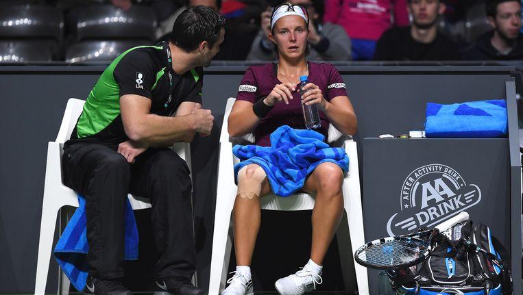 Kirsten Flipkens treft Alizé Cornet in de eerste ronde in Dubai