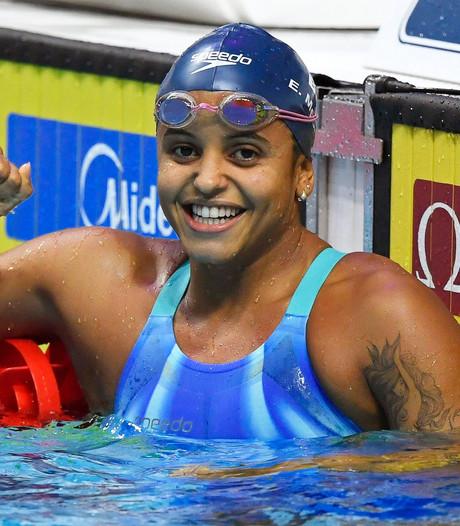 Medeiros zwemt met miniem verschil naar wereldtitel op 50 meter rugslag