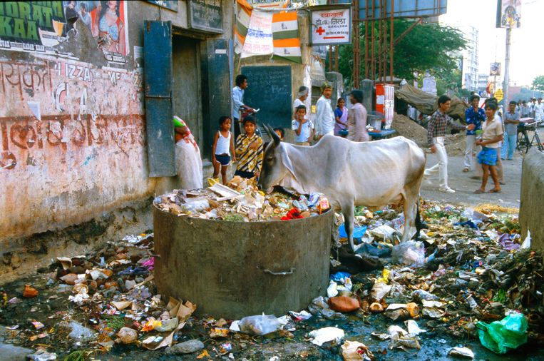 Delhi, India, 1992. Beeld Eddy Posthuma de Boer