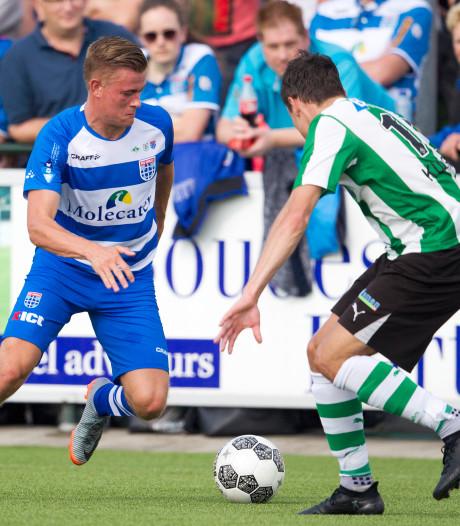 Beloften PEC Zwolle sparren met HHC in Hardenberg