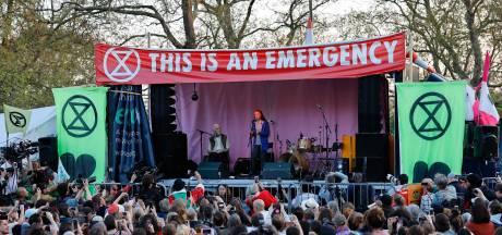 Klimaattiener Greta Thunberg warm onthaald in Londen