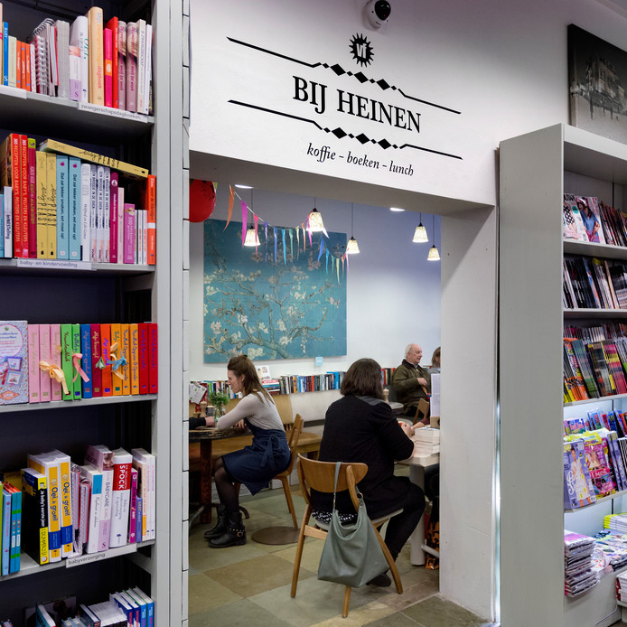 Bij Heinen, de koffiehoek van Adr. Heinen.