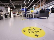 Ikea-beveiliger gewond na mishandeling door klant om coronaregels