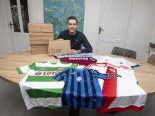 Een voetbalshirt kopen bij Stan uit Vriezenveen zonder te weten welke: 'De verrassing is voor de liefhebber al een feestje'