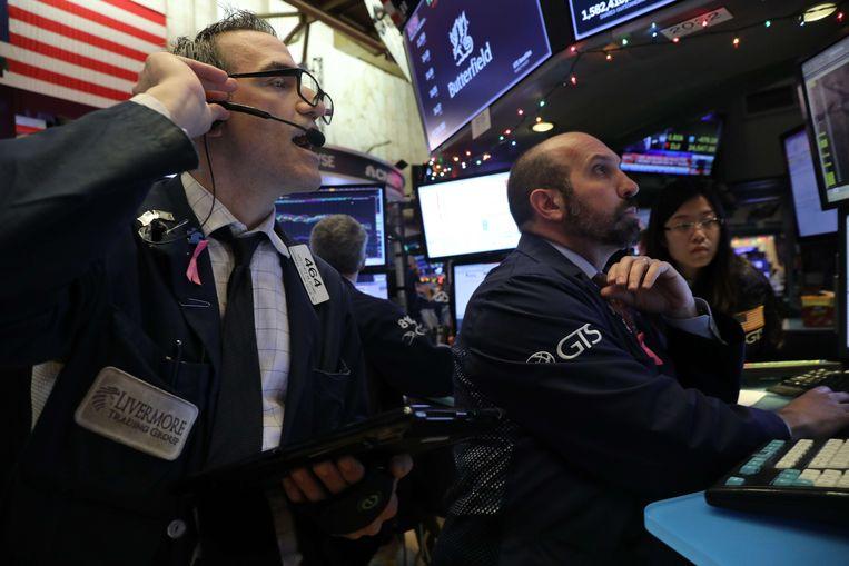 Op Wall Street kijken ze de situatie met lede ogen aan.