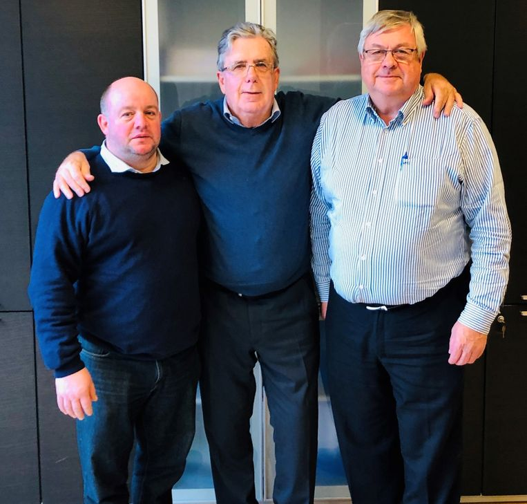 Wim Verbeke, Steven De Ridder en Jos Emmerechts zeggen samen de politiek vaarwel.