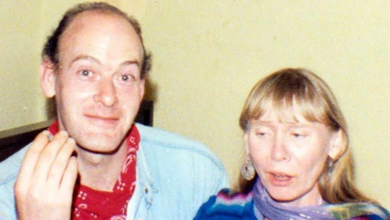 John Sweeney en Delia Balmer in de vroege jaren 90.