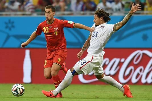 Bien en jambes, Eden Hazard n'a pas fait la différence contre les USA.