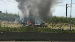 Sportvliegtuigje neergestort naast E40 in Landen: twee gewonden