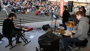 Jazzbands jammen met Fonske