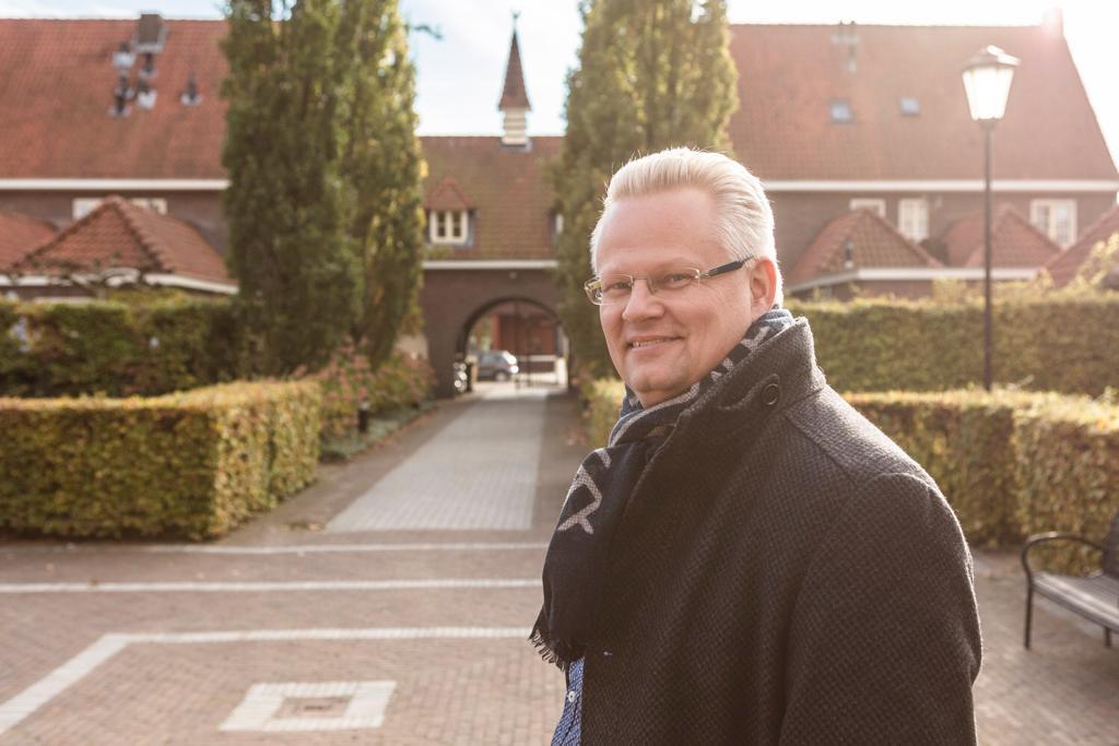 """Marc van der Steen, de nieuwe bestuurder van Stadlander. ,,Kwetsbare huurders hebben permanente begeleiding nodig."""""""