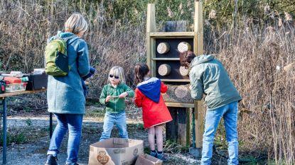 Natuurpunt plaatst bijenhotels in Kleiputten