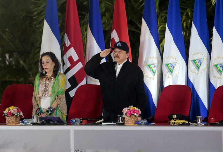 Daniel Ortega is ruim een maand niet in het openbaar verschenen. Beeld Reuters