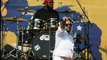 Krachtmeting tussen Guaido en Maduro draait uit op muzikaal duel aan de grens