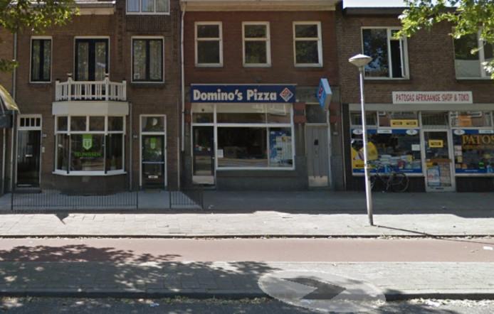 Het Nijmeegse filiaal van Domino's Pizza.