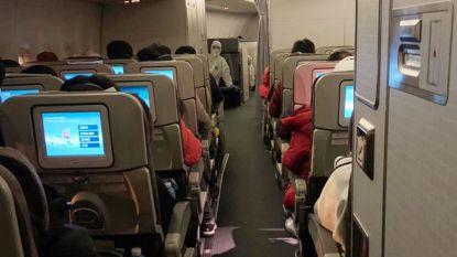Evacuatievliegtuigen ontsmet met middelen tegen herpes en ziekenhuisbacterie om coronavirus te bestrijden