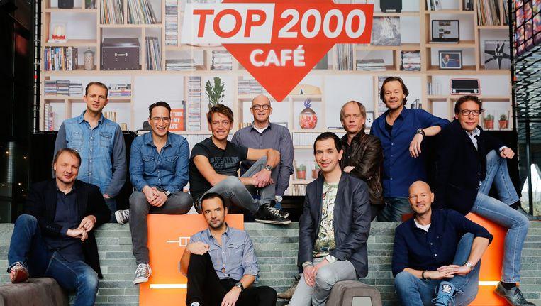 De dj's van de Top 2000 Beeld anp