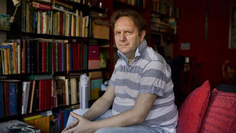 Antony van 't Einde: 'Ik durf nu de trein te pakken naar mijn vader.' Beeld Marc Driessen