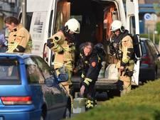 Straat in Almelo afgezet na lekkende gasfles in bestelbus