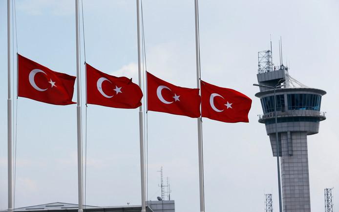 Vliegveld Atatürk in Istanboel