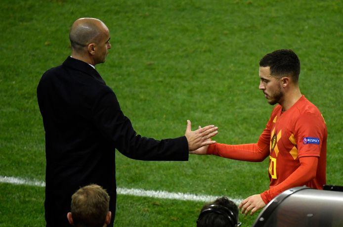 Pour Roberto Martinez, 2021 sera l'année d'Eden Hazard.