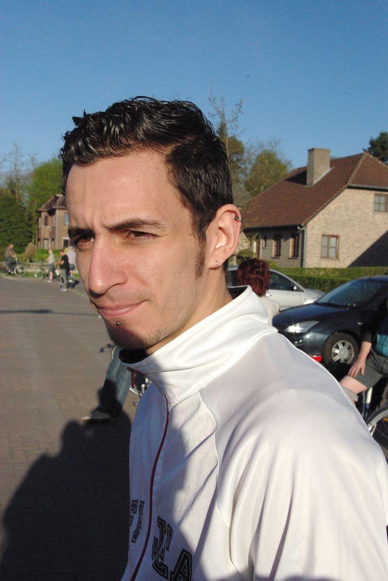Yousef Aidan (27) woonde er nog maar van 1 april.