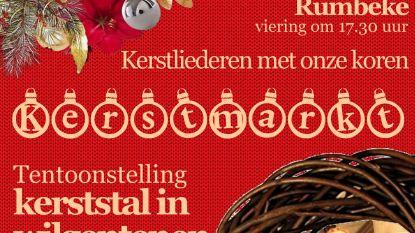 Kerststal in wilgentenen in Sint-Petrus en Pauluskerk