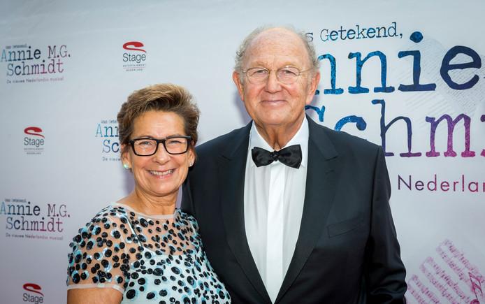 Joop en zijn vrouw Janine.