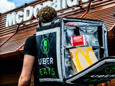 Ook Scheveningers en Voorburgers kunnen maaltijd bestellen via Uber Eats