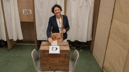 """Sabien Lahaye-Battheu: """"Waarom geen coalitie van overwinnaars?"""""""